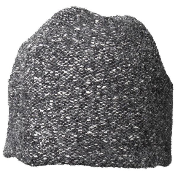 Brit Mütze dark grey mottled
